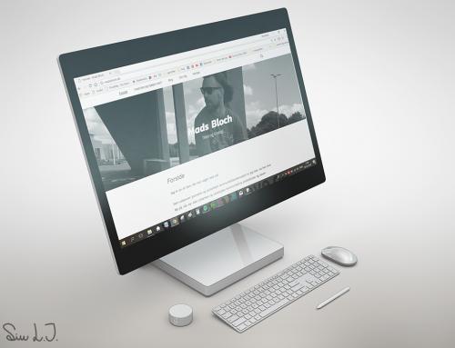 Mads Bloch hjemmeside
