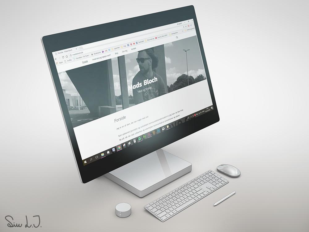 H2 Mads Bloch hjemmeside