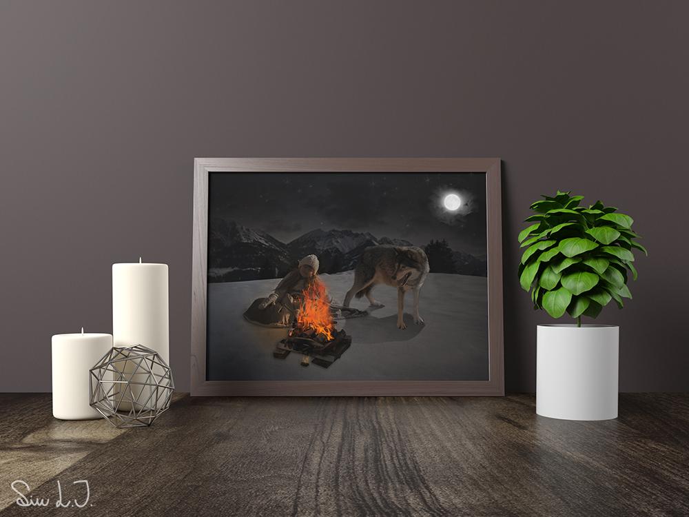 H2 Pige og ulv billede