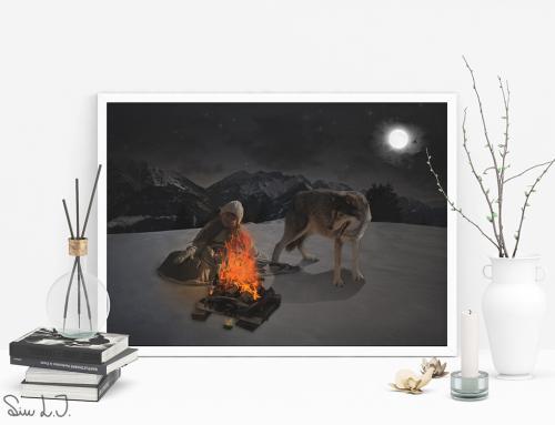 Pigen og ulven