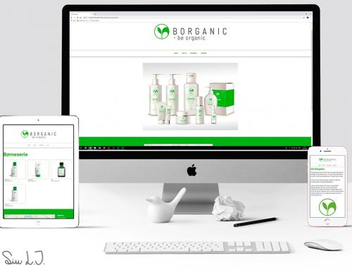 Borganic hjemmeside