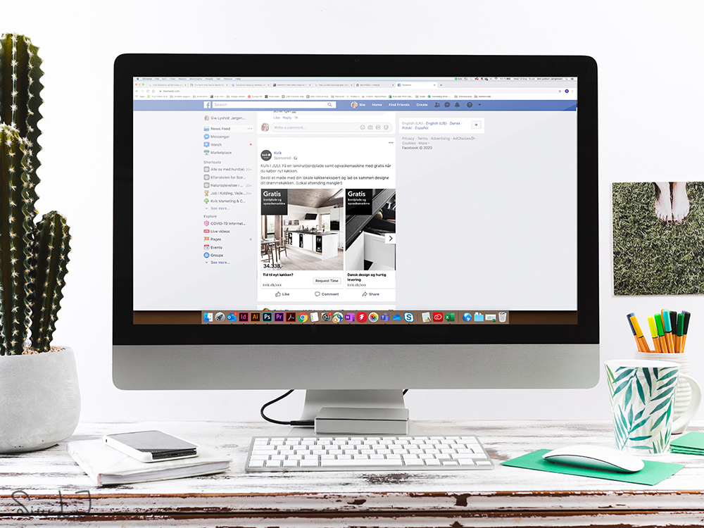 Facebook annonce