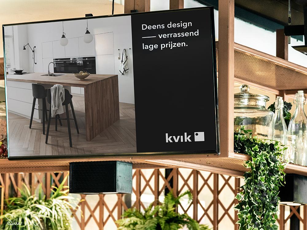 Digitalt billede til Kvik butik
